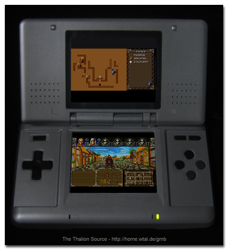 the thalion source ambermoon f r den nintendo ds. Black Bedroom Furniture Sets. Home Design Ideas